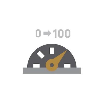 DE 0 A 100 KM/H